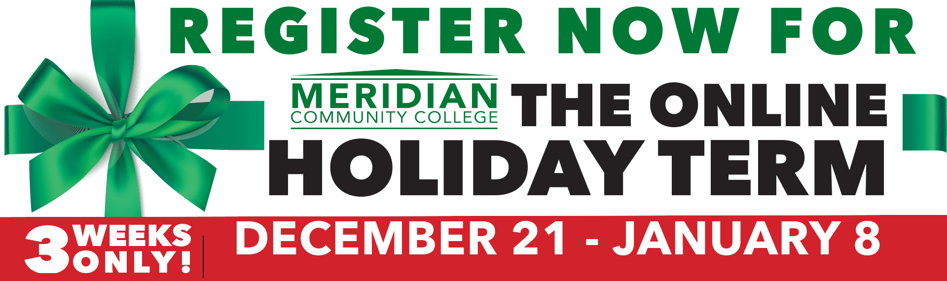 Register for Holiday Term